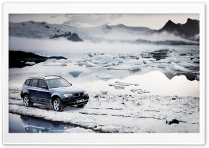 BMW Winter HD Wide Wallpaper for Widescreen