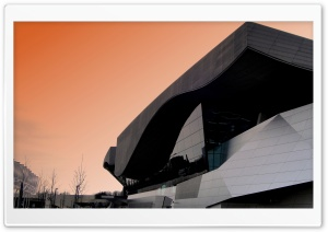 BMW World Munich HD Wide Wallpaper for Widescreen