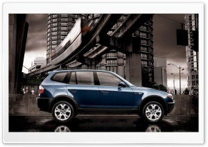 BMW X3 Car HD Wide Wallpaper for Widescreen