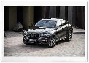 BMW X6 F16 xDrive50i HD Wide Wallpaper for 4K UHD Widescreen desktop & smartphone