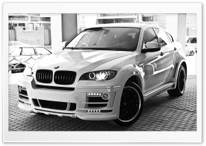 BMW X6 Hamman Tuning HD Wide Wallpaper for Widescreen