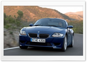 BMW Z4 M Coupe Car HD Wide Wallpaper for Widescreen