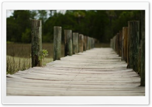 Boardwalk HD Wide Wallpaper for Widescreen