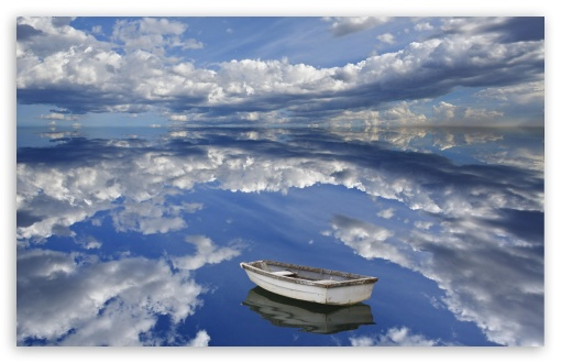 Boat And Clouds Reflecting On Ocean Bar Harbor Maine HD wallpaper for Wide 16:10 5:3 Widescreen WHXGA WQXGA WUXGA WXGA WGA ; HD 16:9 High Definition WQHD QWXGA 1080p 900p 720p QHD nHD ; Standard 4:3 5:4 3:2 Fullscreen UXGA XGA SVGA QSXGA SXGA DVGA HVGA HQVGA devices ( Apple PowerBook G4 iPhone 4 3G 3GS iPod Touch ) ; Tablet 1:1 ; iPad 1/2/Mini ; Mobile 4:3 5:3 3:2 16:9 5:4 - UXGA XGA SVGA WGA DVGA HVGA HQVGA devices ( Apple PowerBook G4 iPhone 4 3G 3GS iPod Touch ) WQHD QWXGA 1080p 900p 720p QHD nHD QSXGA SXGA ;