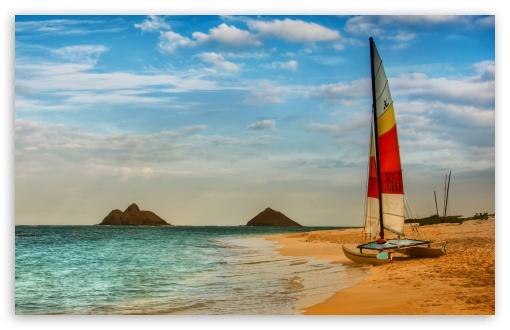 Boat On Oahu Beach HD wallpaper for Wide 16:10 5:3 Widescreen WHXGA WQXGA WUXGA WXGA WGA ; HD 16:9 High Definition WQHD QWXGA 1080p 900p 720p QHD nHD ; UHD 16:9 WQHD QWXGA 1080p 900p 720p QHD nHD ; Standard 4:3 5:4 3:2 Fullscreen UXGA XGA SVGA QSXGA SXGA DVGA HVGA HQVGA devices ( Apple PowerBook G4 iPhone 4 3G 3GS iPod Touch ) ; Tablet 1:1 ; iPad 1/2/Mini ; Mobile 4:3 5:3 3:2 16:9 5:4 - UXGA XGA SVGA WGA DVGA HVGA HQVGA devices ( Apple PowerBook G4 iPhone 4 3G 3GS iPod Touch ) WQHD QWXGA 1080p 900p 720p QHD nHD QSXGA SXGA ;