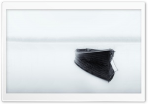 Boat Reflections on Water HD Wide Wallpaper for Widescreen