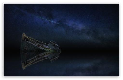 Boat Wreck Sea Ocean Reflection, Night, Milky Way Galaxy UltraHD Wallpaper for Wide 16:10 5:3 Widescreen WHXGA WQXGA WUXGA WXGA WGA ; 8K UHD TV 16:9 Ultra High Definition 2160p 1440p 1080p 900p 720p ; UHD 16:9 2160p 1440p 1080p 900p 720p ; Standard 4:3 5:4 3:2 Fullscreen UXGA XGA SVGA QSXGA SXGA DVGA HVGA HQVGA ( Apple PowerBook G4 iPhone 4 3G 3GS iPod Touch ) ; Smartphone 16:9 3:2 5:3 2160p 1440p 1080p 900p 720p DVGA HVGA HQVGA ( Apple PowerBook G4 iPhone 4 3G 3GS iPod Touch ) WGA ; Tablet 1:1 ; iPad 1/2/Mini ; Mobile 4:3 5:3 3:2 16:9 5:4 - UXGA XGA SVGA WGA DVGA HVGA HQVGA ( Apple PowerBook G4 iPhone 4 3G 3GS iPod Touch ) 2160p 1440p 1080p 900p 720p QSXGA SXGA ;