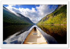 Boating On The Lake HD Wide Wallpaper for Widescreen