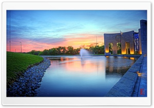 Bob Dole Library, Lawrence, Kansas HD Wide Wallpaper for Widescreen
