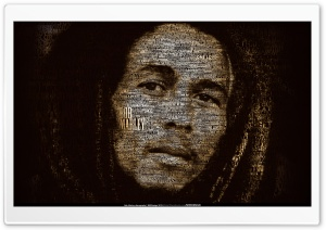 Bob Marley discography by Mateusz Latocha HD Wide Wallpaper for Widescreen
