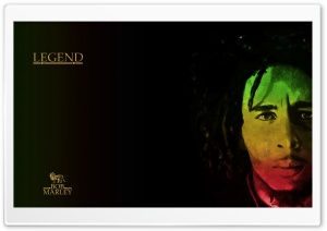 Bob Marley, Legend. HD Wide Wallpaper for 4K UHD Widescreen desktop & smartphone
