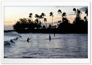 Bodyboarders HD Wide Wallpaper for Widescreen