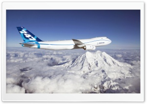 Boeing 747 HD Wide Wallpaper for Widescreen