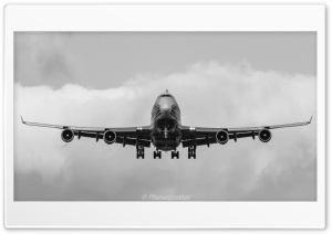 Boeing 747 HD Wide Wallpaper for 4K UHD Widescreen desktop & smartphone