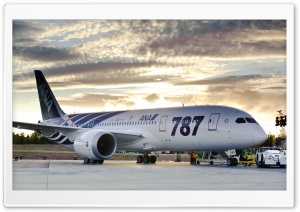 Boeing 787 Ultra HD Wallpaper for 4K UHD Widescreen desktop, tablet & smartphone