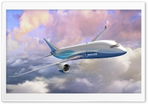 Boeing 787 Dreamliner HD Wide Wallpaper for 4K UHD Widescreen desktop & smartphone