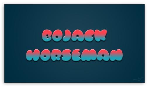 Bojack Horseman Tv Series 4k Hd Desktop Wallpaper For 4k