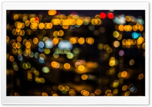 Bokeh Circles HD Wide Wallpaper for Widescreen