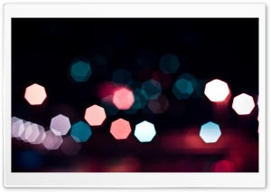 Bokeh Lights Ultra HD Wallpaper for 4K UHD Widescreen desktop, tablet & smartphone