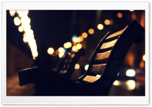 Bokeh Park HD Wide Wallpaper for Widescreen