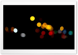 Bokeh Photography HD Wide Wallpaper for Widescreen