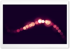 Bokeh String HD Wide Wallpaper for Widescreen