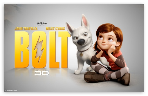 Bolt Movie UltraHD Wallpaper for Wide 16:10 5:3 Widescreen WHXGA WQXGA WUXGA WXGA WGA ; 8K UHD TV 16:9 Ultra High Definition 2160p 1440p 1080p 900p 720p ; Standard 3:2 Fullscreen DVGA HVGA HQVGA ( Apple PowerBook G4 iPhone 4 3G 3GS iPod Touch ) ; Mobile 5:3 3:2 16:9 - WGA DVGA HVGA HQVGA ( Apple PowerBook G4 iPhone 4 3G 3GS iPod Touch ) 2160p 1440p 1080p 900p 720p ;