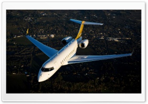 Bombardier Global 5000 Aircraft Ultra HD Wallpaper for 4K UHD Widescreen desktop, tablet & smartphone