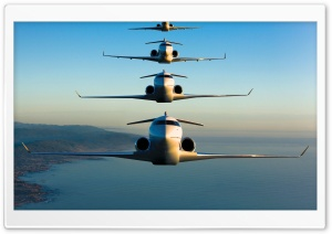Bombardier Global Express HD Wide Wallpaper for Widescreen