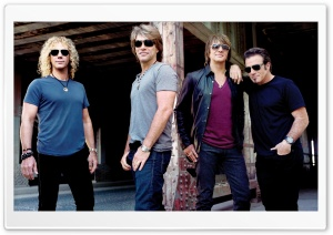 Bon Jovi HD Wide Wallpaper for 4K UHD Widescreen desktop & smartphone