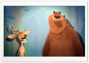Boog & Elliot Open Season HD Wide Wallpaper for Widescreen
