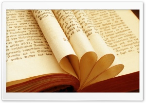 Book Pages HD Wide Wallpaper for Widescreen