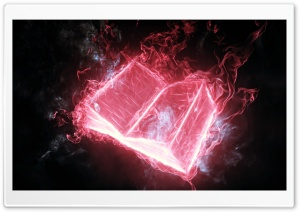 Book Wallpaper - Pink HD Wide Wallpaper for Widescreen