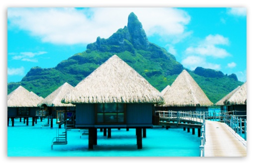 Bora Bora Resort HD wallpaper for Wide 16:10 5:3 Widescreen WHXGA WQXGA WUXGA WXGA WGA ; HD 16:9 High Definition WQHD QWXGA 1080p 900p 720p QHD nHD ; Standard 4:3 5:4 Fullscreen UXGA XGA SVGA QSXGA SXGA ; MS 3:2 DVGA HVGA HQVGA devices ( Apple PowerBook G4 iPhone 4 3G 3GS iPod Touch ) ; Mobile VGA WVGA iPhone iPad PSP Phone - VGA QVGA Smartphone ( PocketPC GPS iPod Zune BlackBerry HTC Samsung LG Nokia Eten Asus ) WVGA WQVGA Smartphone ( HTC Samsung Sony Ericsson LG Vertu MIO ) HVGA Smartphone ( Apple iPhone iPod BlackBerry HTC Samsung Nokia ) Sony PSP Zune HD Zen ; Tablet 1&2 Android ;