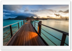 Bora Bora Resort Ultra HD Wallpaper for 4K UHD Widescreen desktop, tablet & smartphone