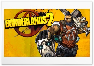 Borderlands 2 Gunzerker HD Wide Wallpaper for 4K UHD Widescreen desktop & smartphone