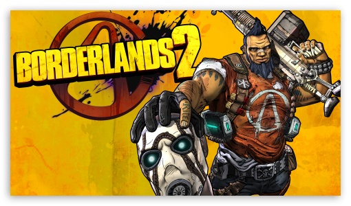 Borderlands 2 Gunzerker ❤ 4K UHD Wallpaper for 4K UHD 16:9 Ultra High Definition 2160p 1440p 1080p 900p 720p ; Mobile 16:9 - 2160p 1440p 1080p 900p 720p ;