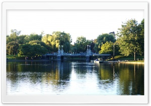 Boston Commons HD Wide Wallpaper for Widescreen