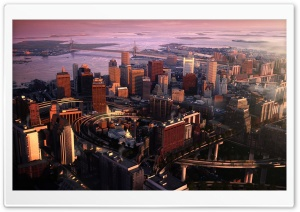 Boston Panorama HD Wide Wallpaper for Widescreen