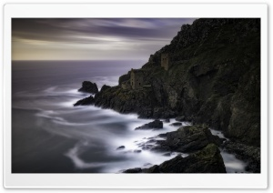 Botallack Mines Coast Ultra HD Wallpaper for 4K UHD Widescreen desktop, tablet & smartphone