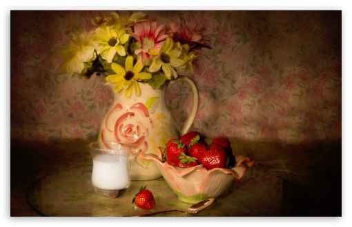Bowl Of Strawberries, Vintage ❤ 4K UHD Wallpaper for Wide 16:10 5:3 Widescreen WHXGA WQXGA WUXGA WXGA WGA ; 4K UHD 16:9 Ultra High Definition 2160p 1440p 1080p 900p 720p ; UHD 16:9 2160p 1440p 1080p 900p 720p ; Standard 4:3 5:4 3:2 Fullscreen UXGA XGA SVGA QSXGA SXGA DVGA HVGA HQVGA ( Apple PowerBook G4 iPhone 4 3G 3GS iPod Touch ) ; Tablet 1:1 ; iPad 1/2/Mini ; Mobile 4:3 5:3 3:2 16:9 5:4 - UXGA XGA SVGA WGA DVGA HVGA HQVGA ( Apple PowerBook G4 iPhone 4 3G 3GS iPod Touch ) 2160p 1440p 1080p 900p 720p QSXGA SXGA ;