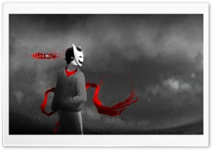 Boy With Mask HD Wide Wallpaper for Widescreen