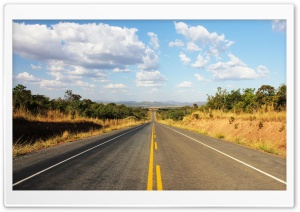 BR O70 Highway, Brazil HD Wide Wallpaper for Widescreen