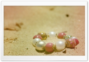 Bracelet In The Sand HD Wide Wallpaper for Widescreen