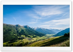Bramberg Am Wildkogel, Austria HD Wide Wallpaper for Widescreen