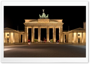 Brandenburg Gate HD Wide Wallpaper for Widescreen