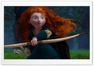 Brave 2012 HD Wide Wallpaper for Widescreen