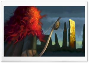 Brave 2012 Movie HD Wide Wallpaper for Widescreen