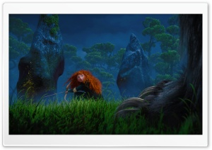 Brave Movie 2012 HD Wide Wallpaper for Widescreen