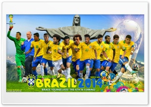 BRAZIL 2014 HD Wide Wallpaper for 4K UHD Widescreen desktop & smartphone